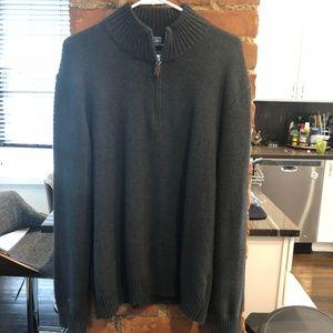 Polo Ralph Lauren Grey Zip Sweater